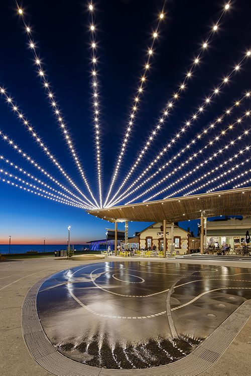Henley square catenary lighting system adelaide tensile design henley square catenary lighting system adelaide tensile design construct mozeypictures Images