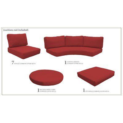 Sol 72 Outdoor Waterbury Indoor Outdoor Cushion Cover Outdoor