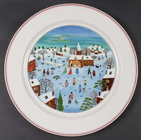 villeroy boch naif christmas christmas dinnerware pinterest christmas dinnerware china. Black Bedroom Furniture Sets. Home Design Ideas