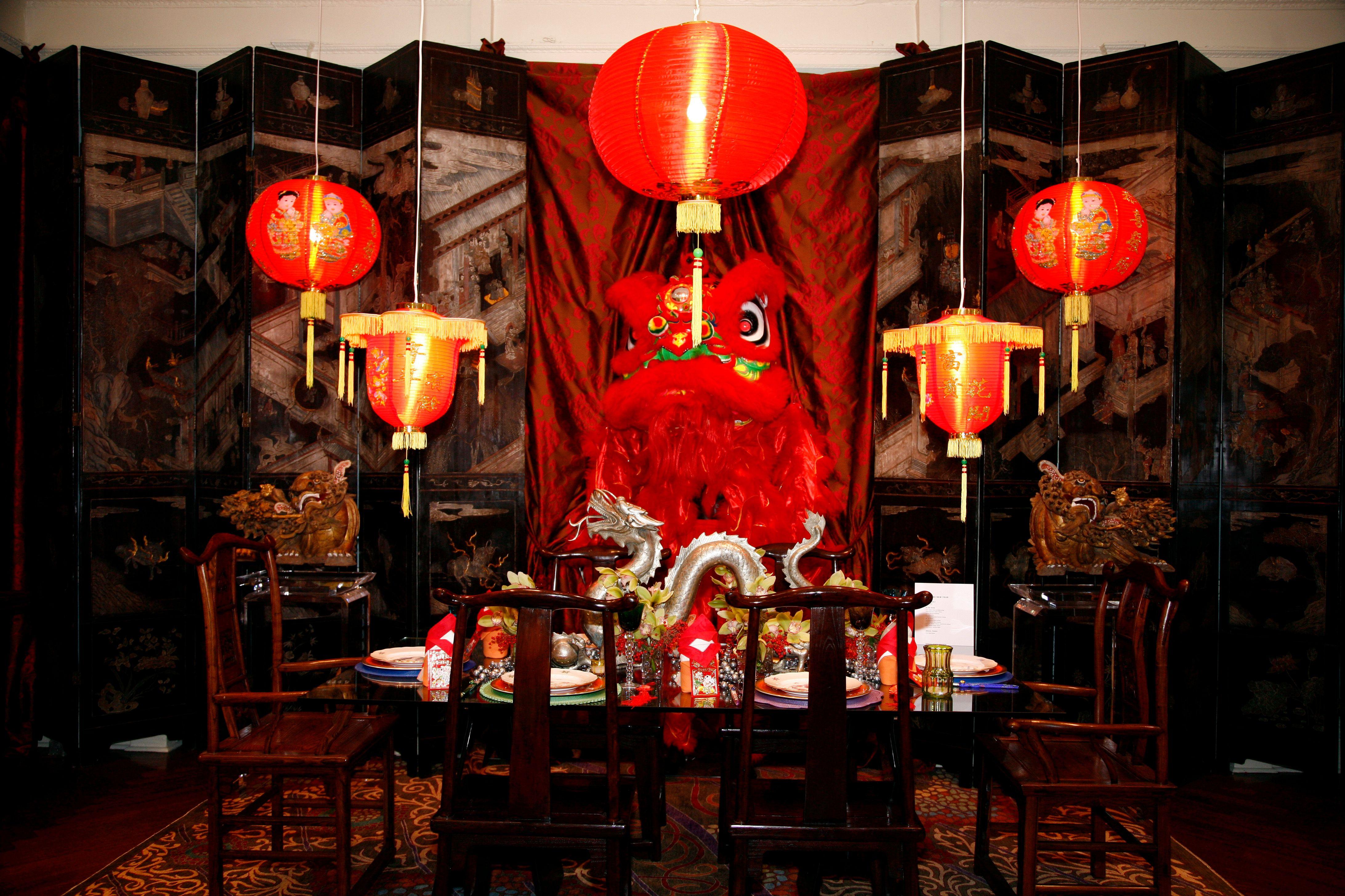 "16"" Traditional Chinese Lantern w/Tassel Dining room"