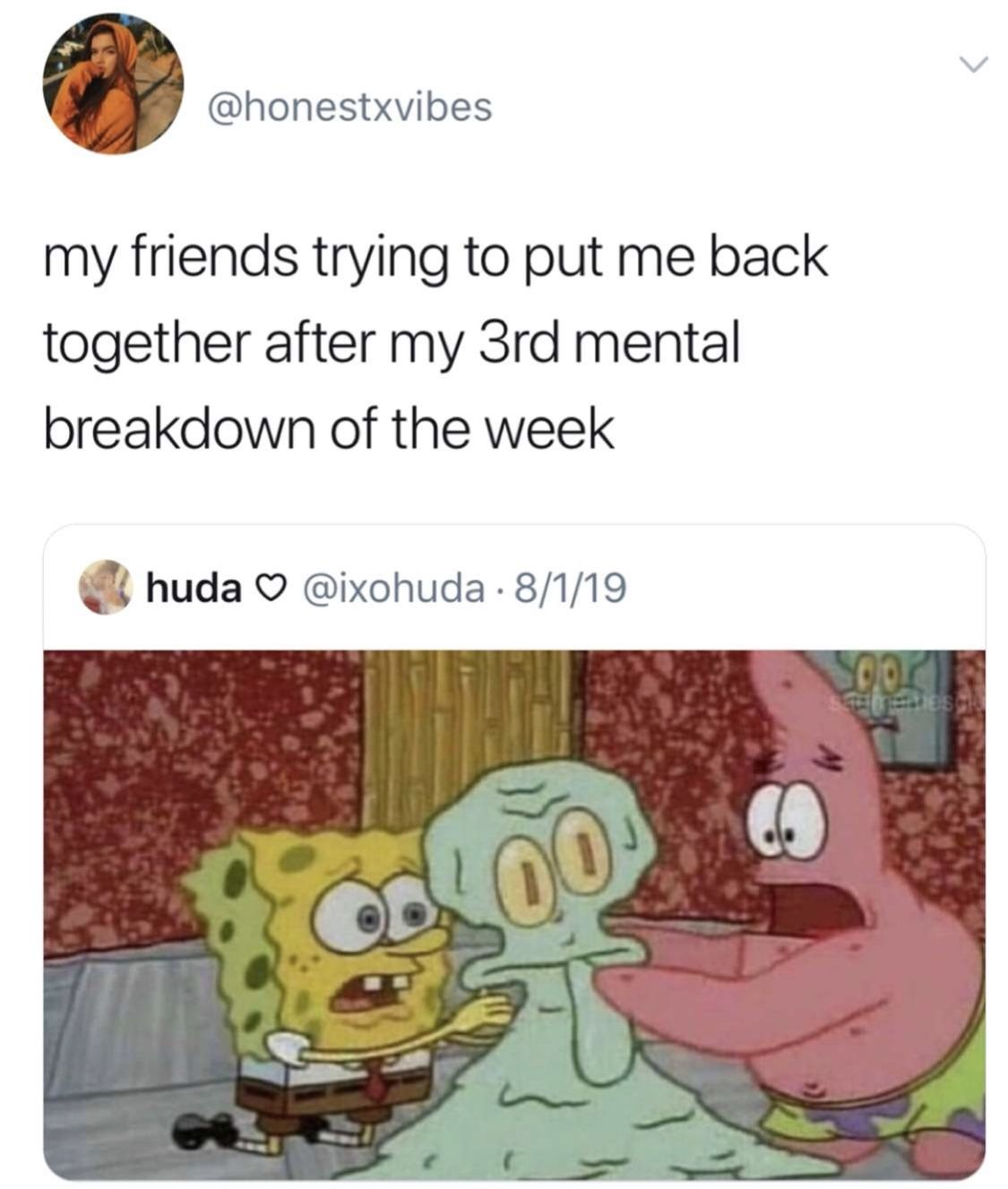 Pin By Ashleigh Holder On My Kind Of Humor Spongebob Memes Funny Pictures Funny
