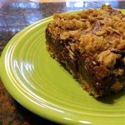Oatmeal-Crusted Brownies Allrecipes.com