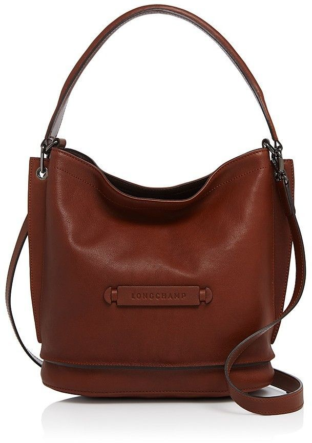 c8f36f4a25a16 Longchamp 3D Leather Crossbody in 2019