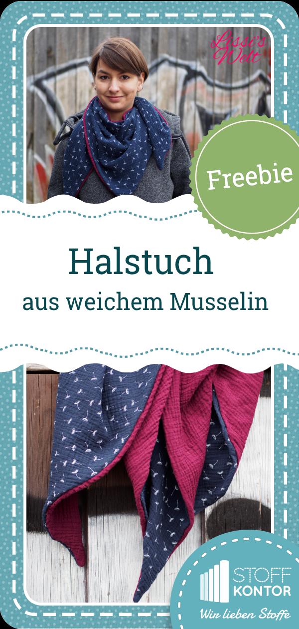 Photo of Kostenlose Anleitung für ein Dreieckstuch aus Musselin für Kinder und Erwachsene – Freebie