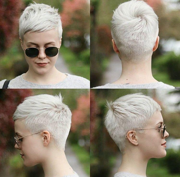 Idées Et Tendances Coupe Courte Tendance Image Description Just Short Haircuts Nothing Else If You Re Thinking Of Getting An Undercut Sidecut Pixie