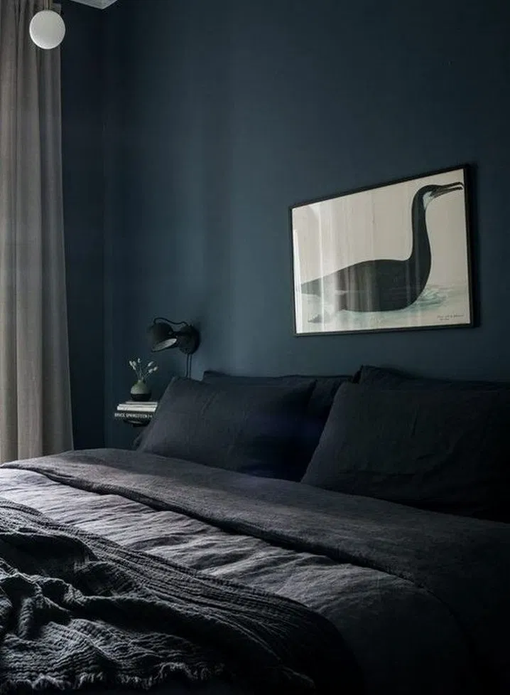 9 elegant and comfortable black bedroom designs and ...