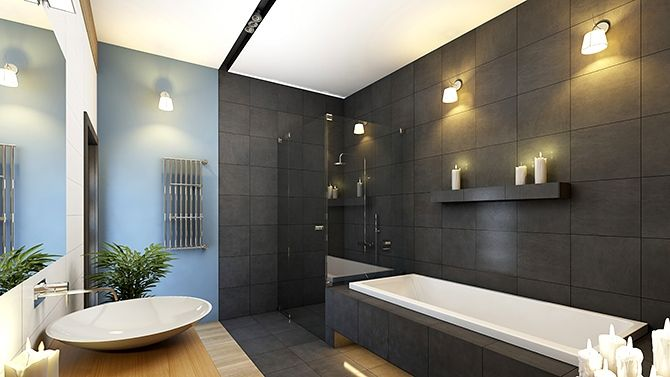 salle de bain contemporaine bathroom pinterest google and search - Salle De Bain