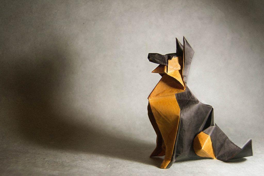Photo of 22 Ausgezeichnete Origami-Modelle für Hundeliebhaber