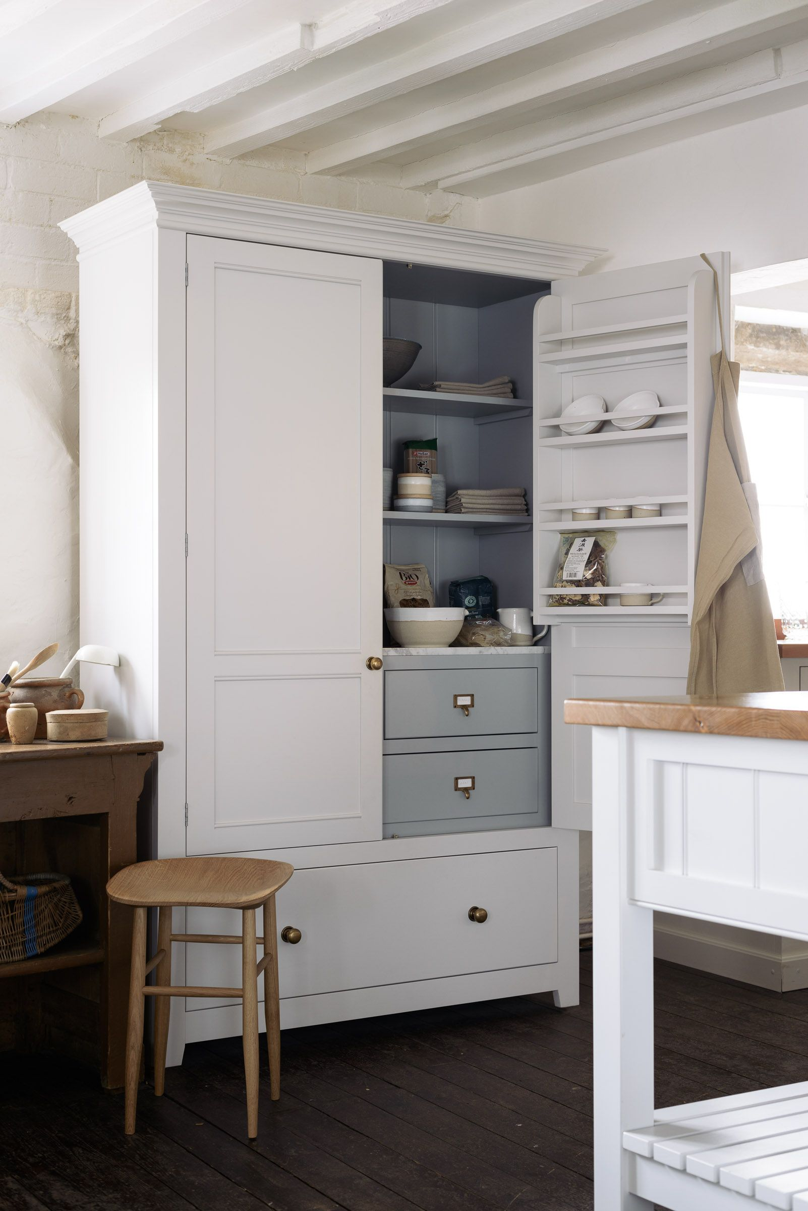 The Classic English Pantry Cupboard By Devol Nothing Surplus To
