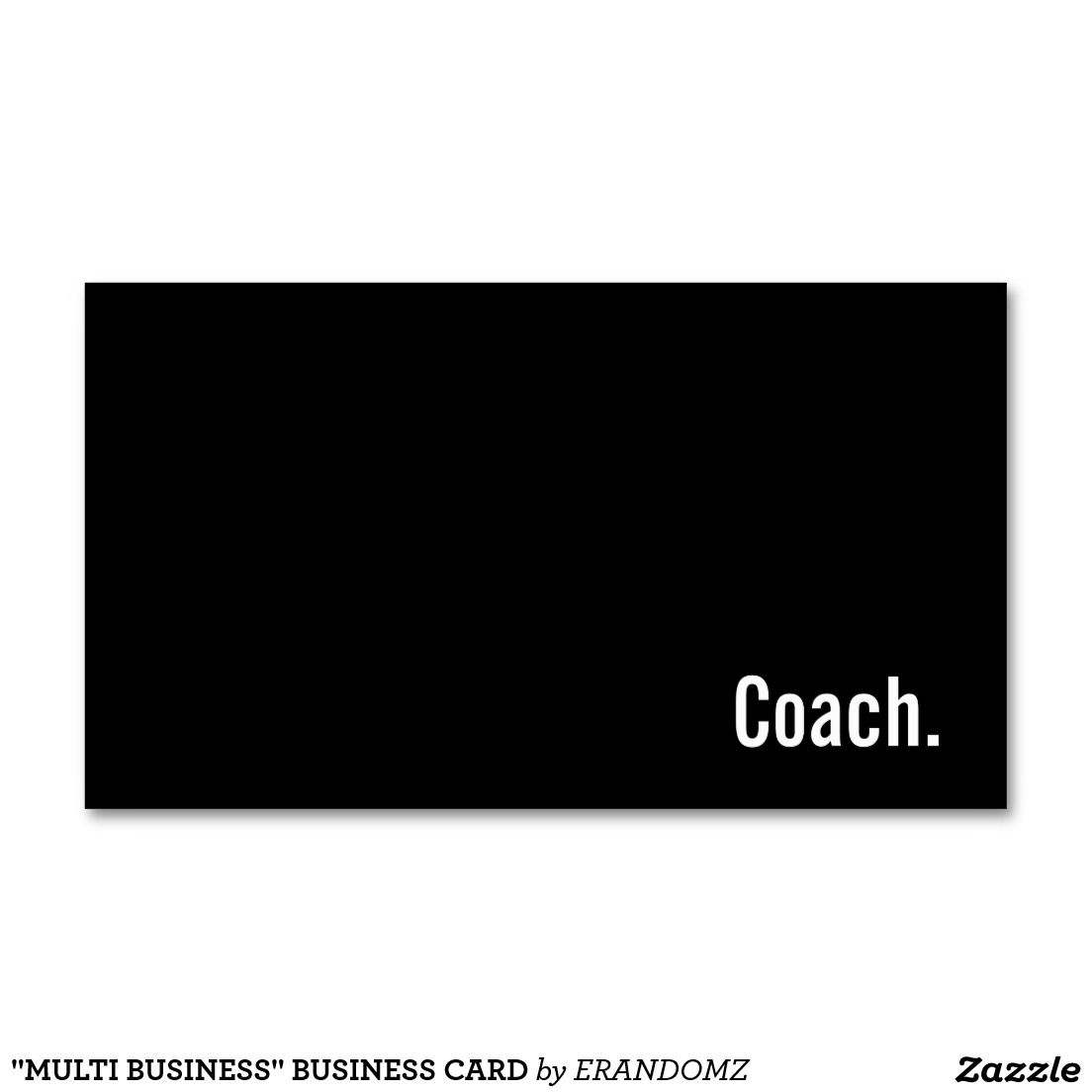 """""""MULTI BUSINESS"""" BUSINESS CARD 