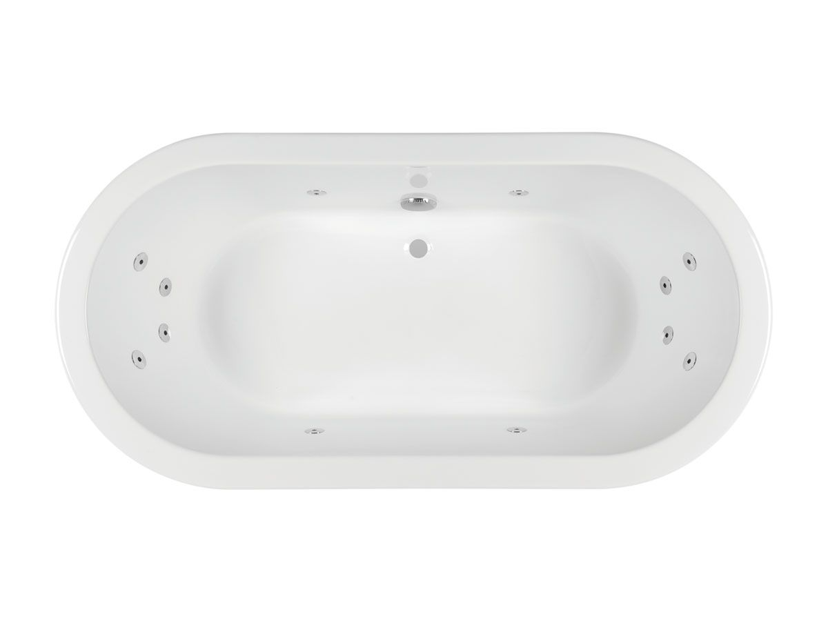 Kado Lure Freestanding Oval Spa Bath | bathrooms | Pinterest | Spa ...