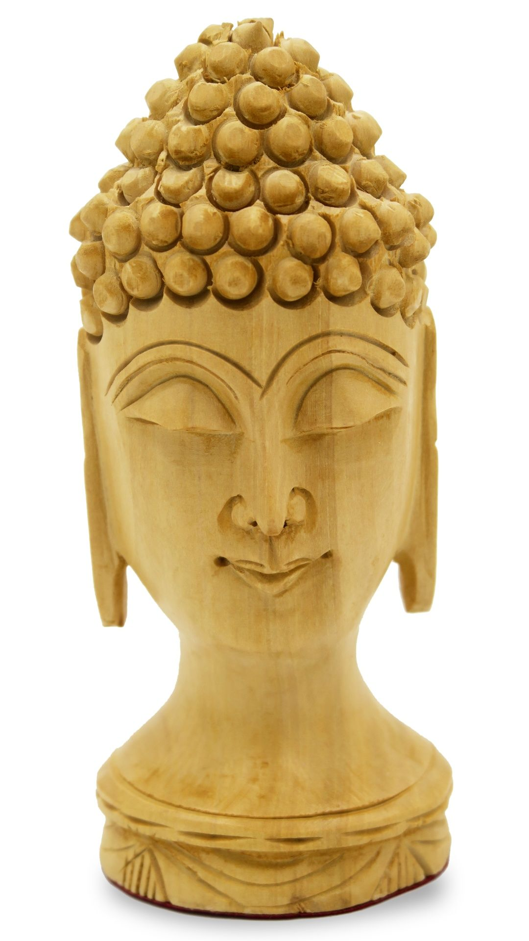Buddha Head Made In Wood By Padharosa Art Buddha Buddhism