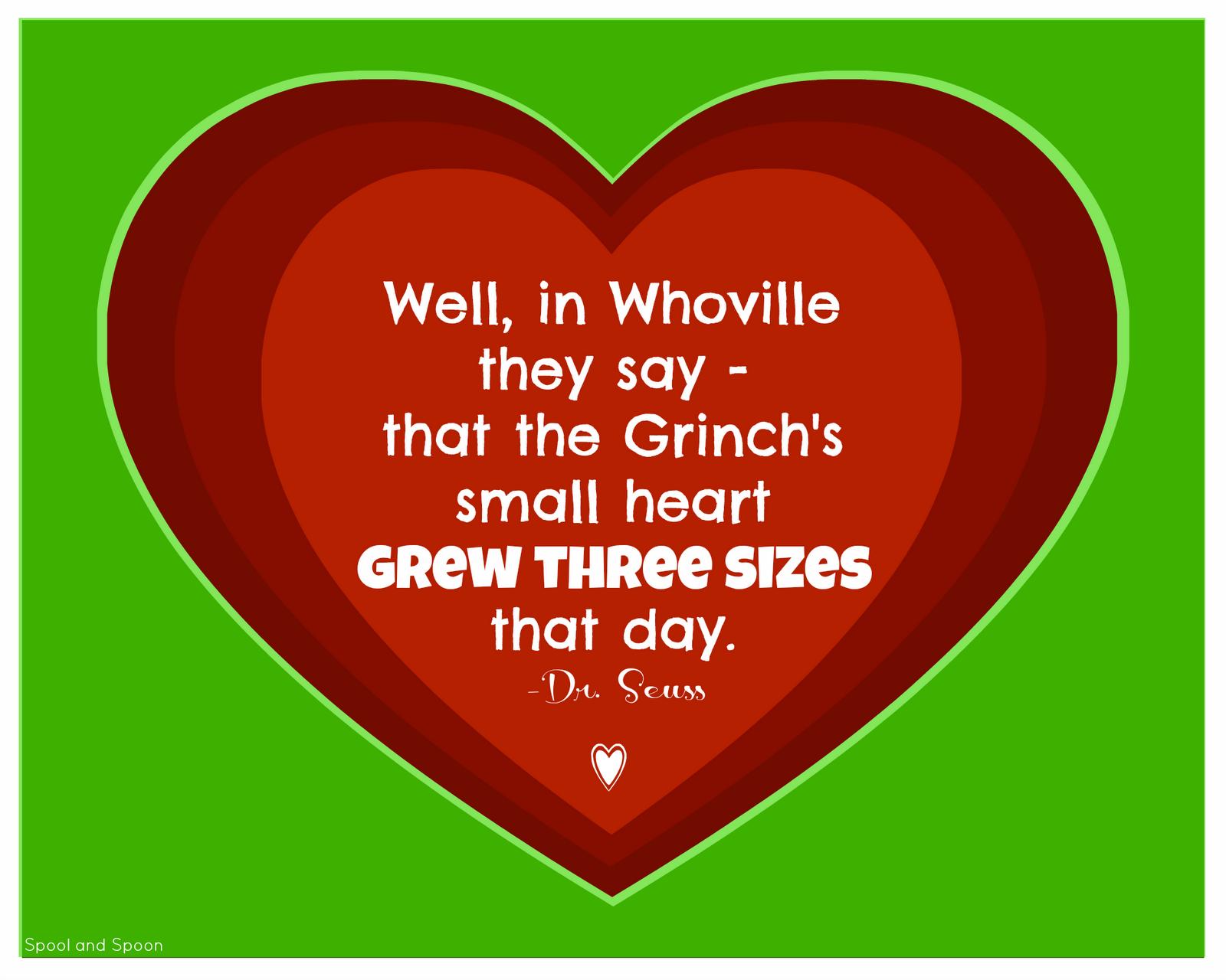 How The Grinch Stole Christmas Heart