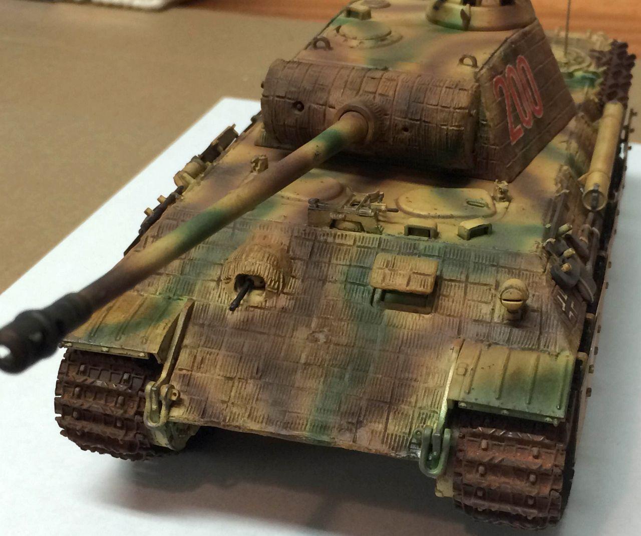 Panther auf A, D et G avec le canon mobile en élévation au 1/50 Ca9bf4fb2cb1b39977f48f32fcfb4592