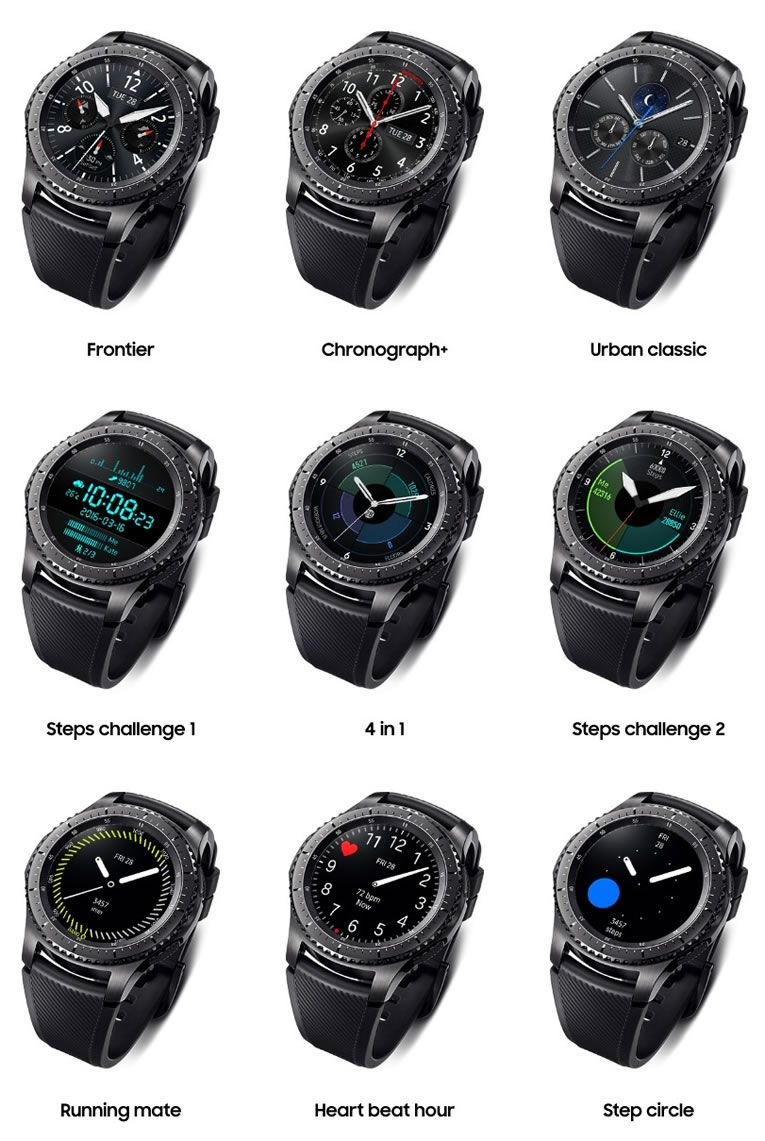 Samsung Gear S3 Watch Has Better Features Performance Samsung Watches Samsung Smart Watch Smart Watch Android