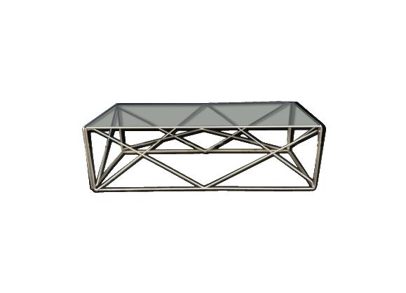Table Basse Isocele Design Max Sauze Table Plateau En Verre
