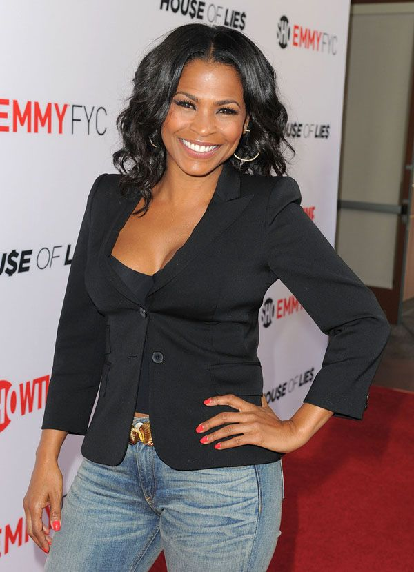Nia Long Wavy Hairstyle | L15L Style Inspiration | Pinterest | Long ...