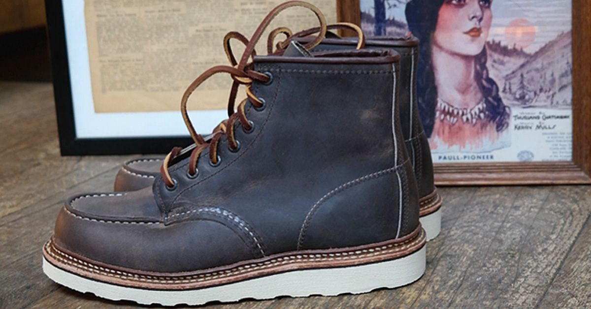 df7309a49f8 Red Wing Heritage 8883 Classic Moc 6