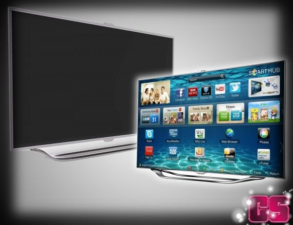 Samsung 3d led smart tv series 8 by anita buy mode for Samsung smart tv living room