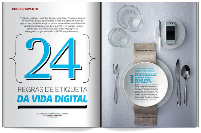 magazine design - Gabriel Gianordoli