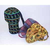 D'Jembe Drum Bags -African Print Fabric
