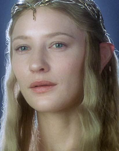Cate Blanchett As The Lady Galadriel The Fellowship Of The Ring Galadriel Lord Of The Rings The Hobbit