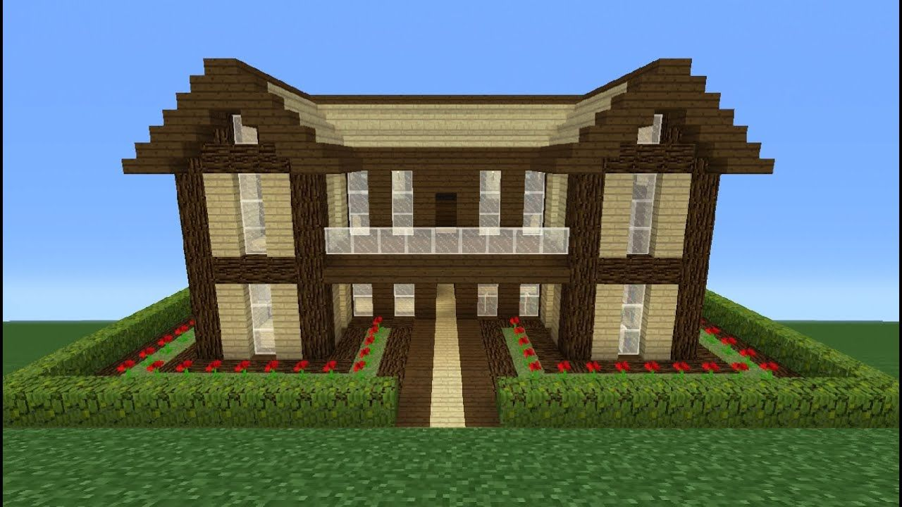 Pin By Sofy Incio On Minecraft In 2020 Easy Minecraft Houses Big Minecraft Houses Minecraft Houses Blueprints