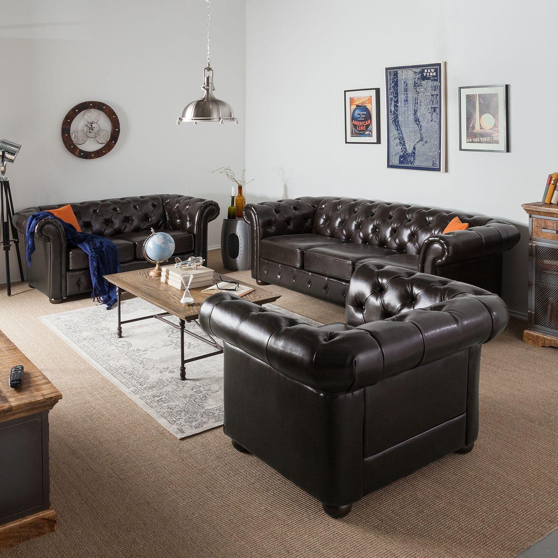 Sofa Taunton 3 Sitzer Sofa Mit Relaxfunktion Sofas Ledersofa