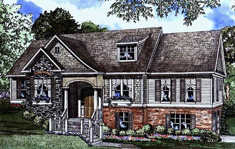 Split level house plan with 2495 square feet and 4 - 4 bedroom split level floor plans ...