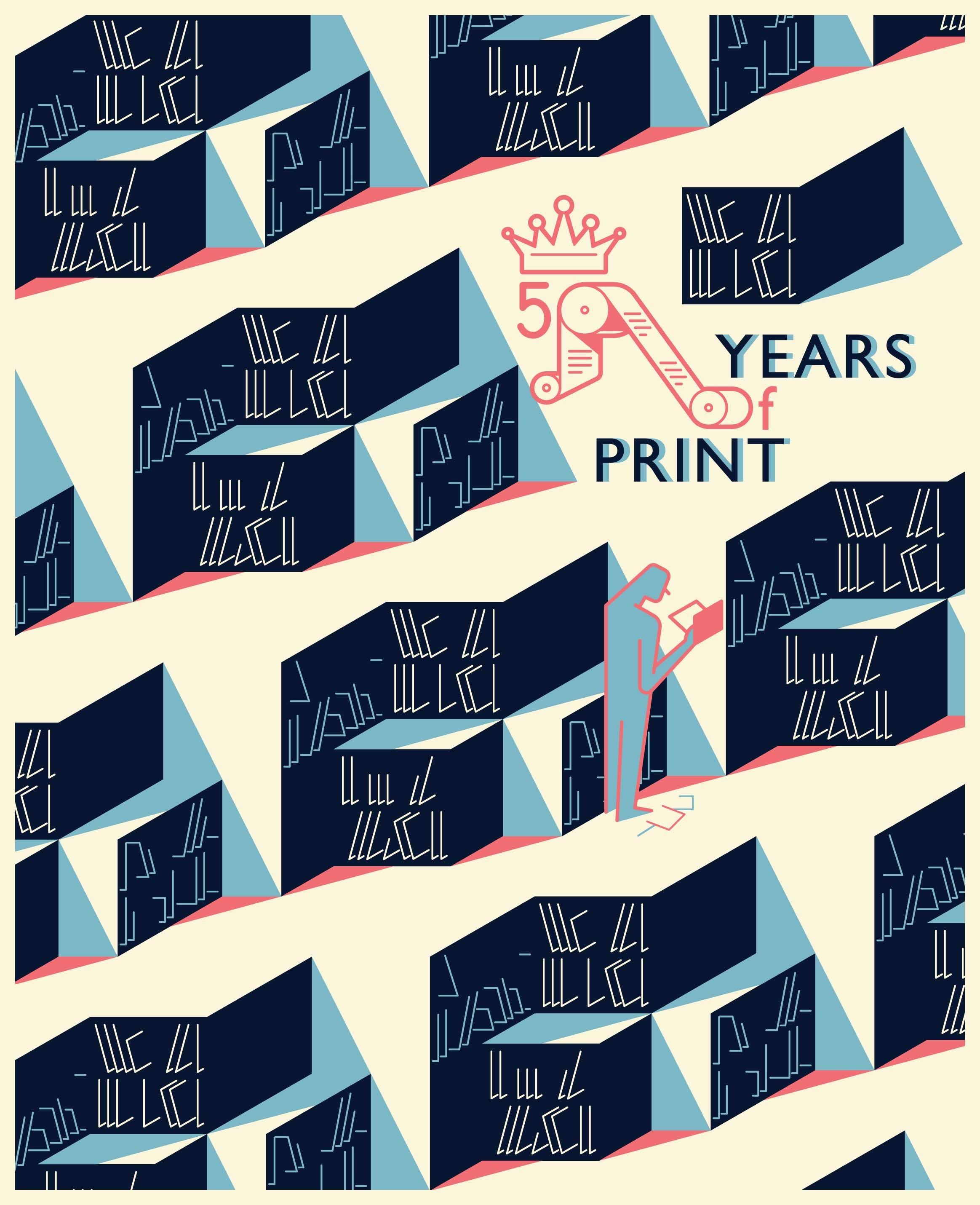 50 Years Of Print At The Royal Library, Brussels