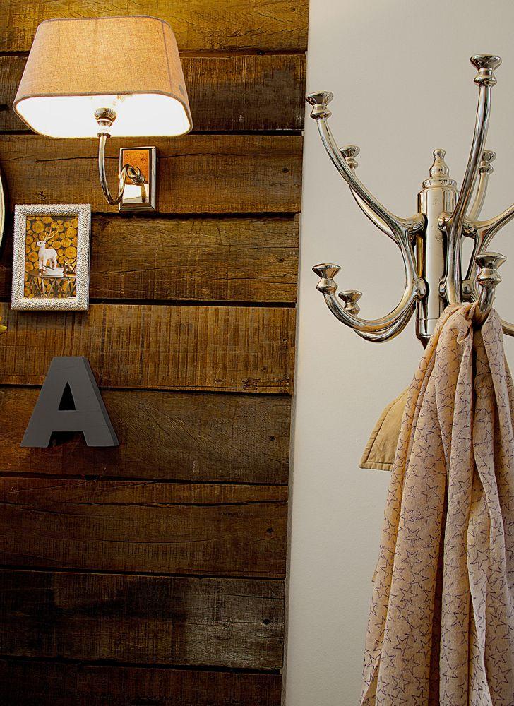 Lene Bjerre  AUTUMN 2013.  CAROLA capital letter, AUSTIN frame, KAREN LIGHTING lamp with RUSTIC LINEN shade and BELMONT coat stand.