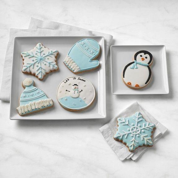 Photo of Assorted Winter Cookies, Set of 6