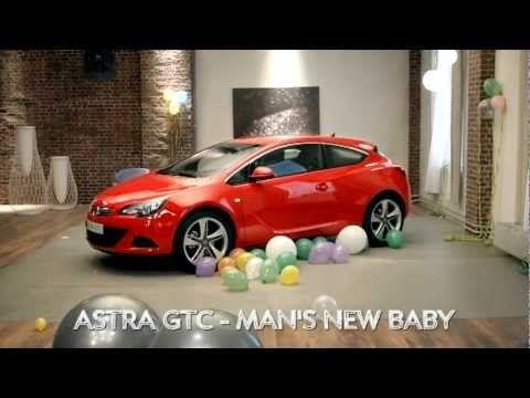 Opel Astra GTC Trailer - Man's new Baby