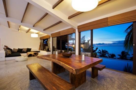 Beautiful Tropical House Design Modern Tropical Home Design With Ocean View Home Design