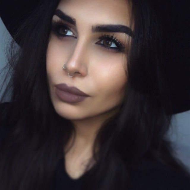 Lips are MAC Styled in Sepia | Flawless face makeup, Face ...