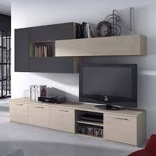 association meuble tv bibliotheque - Recherche Google marron et noir ...