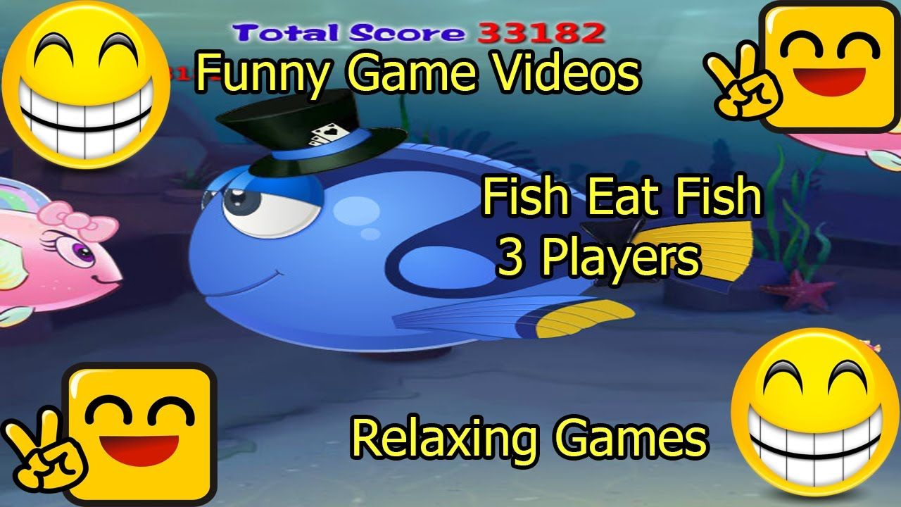 Funny Game Videos Relaxing Games Fish Eat Fish 3