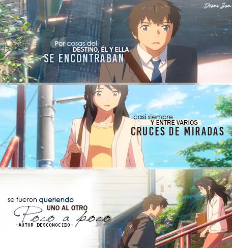 Kimi No Na Wa Your Name Frases De Anime Your Name Anime Kimi No Na Wa Your Name Quotes