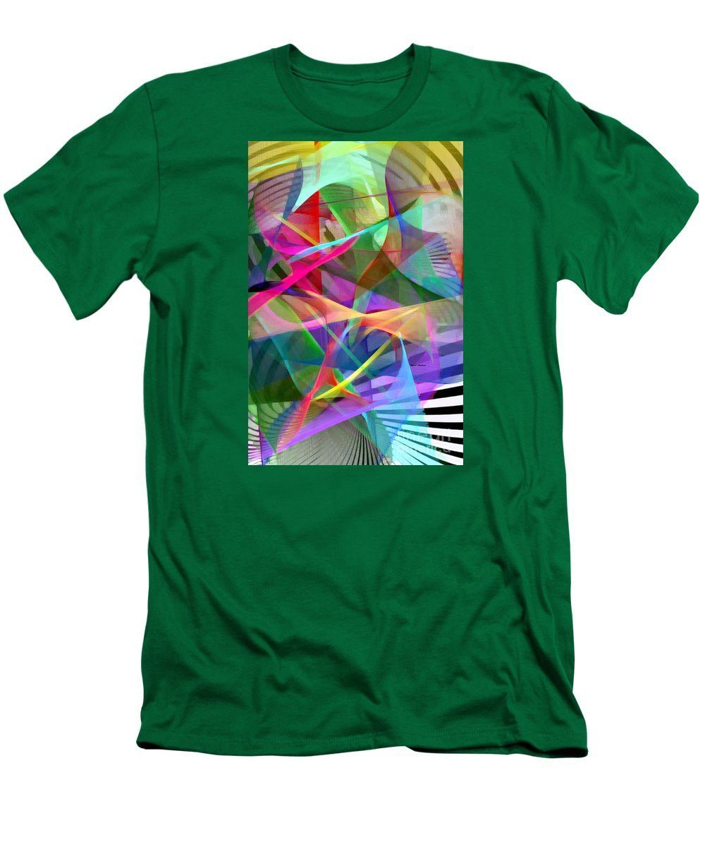 Men's T-Shirt (Slim Fit) - Abstract 9488