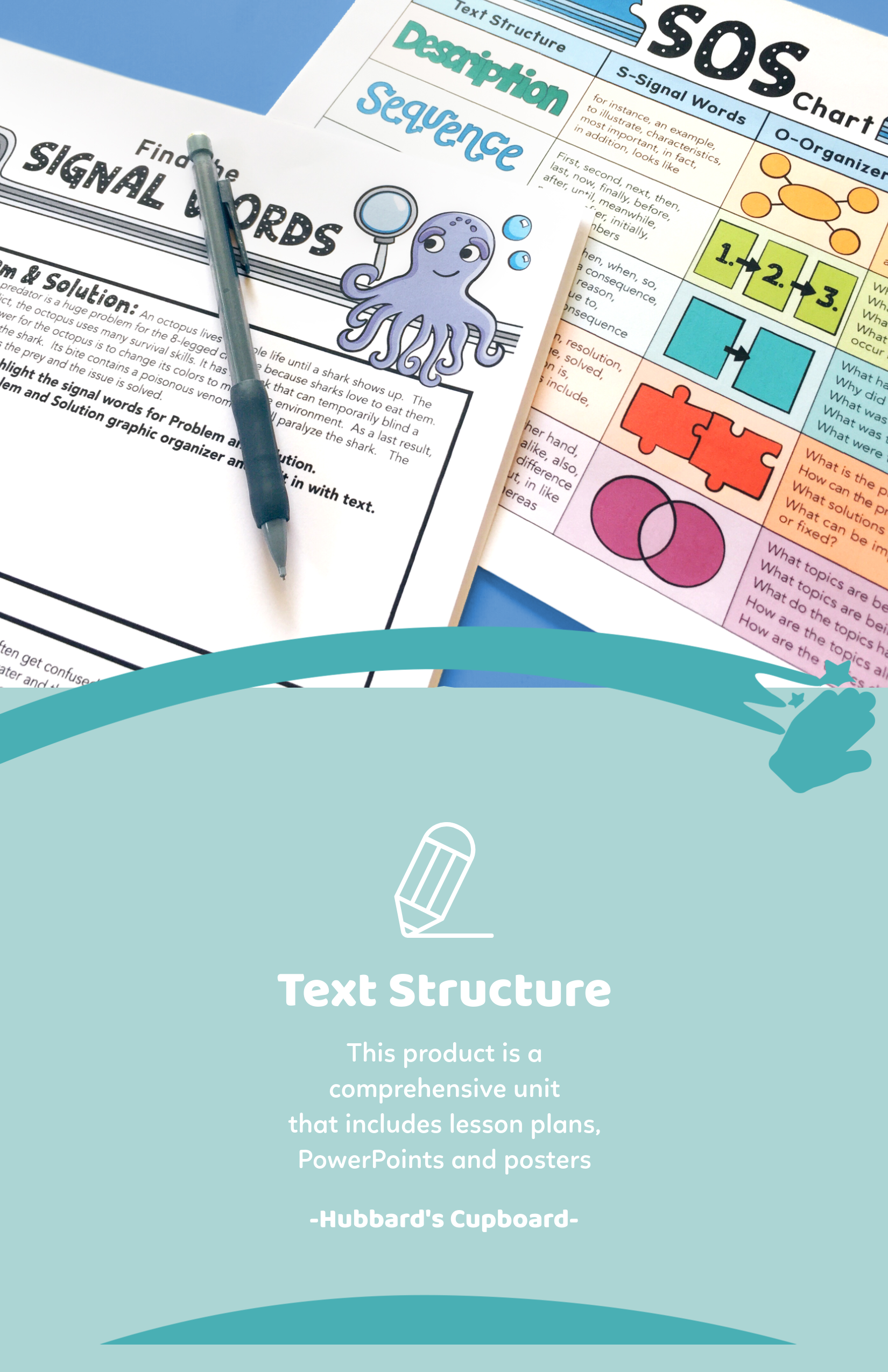 Nonfiction Text Structure Worksheets Lesson Plans