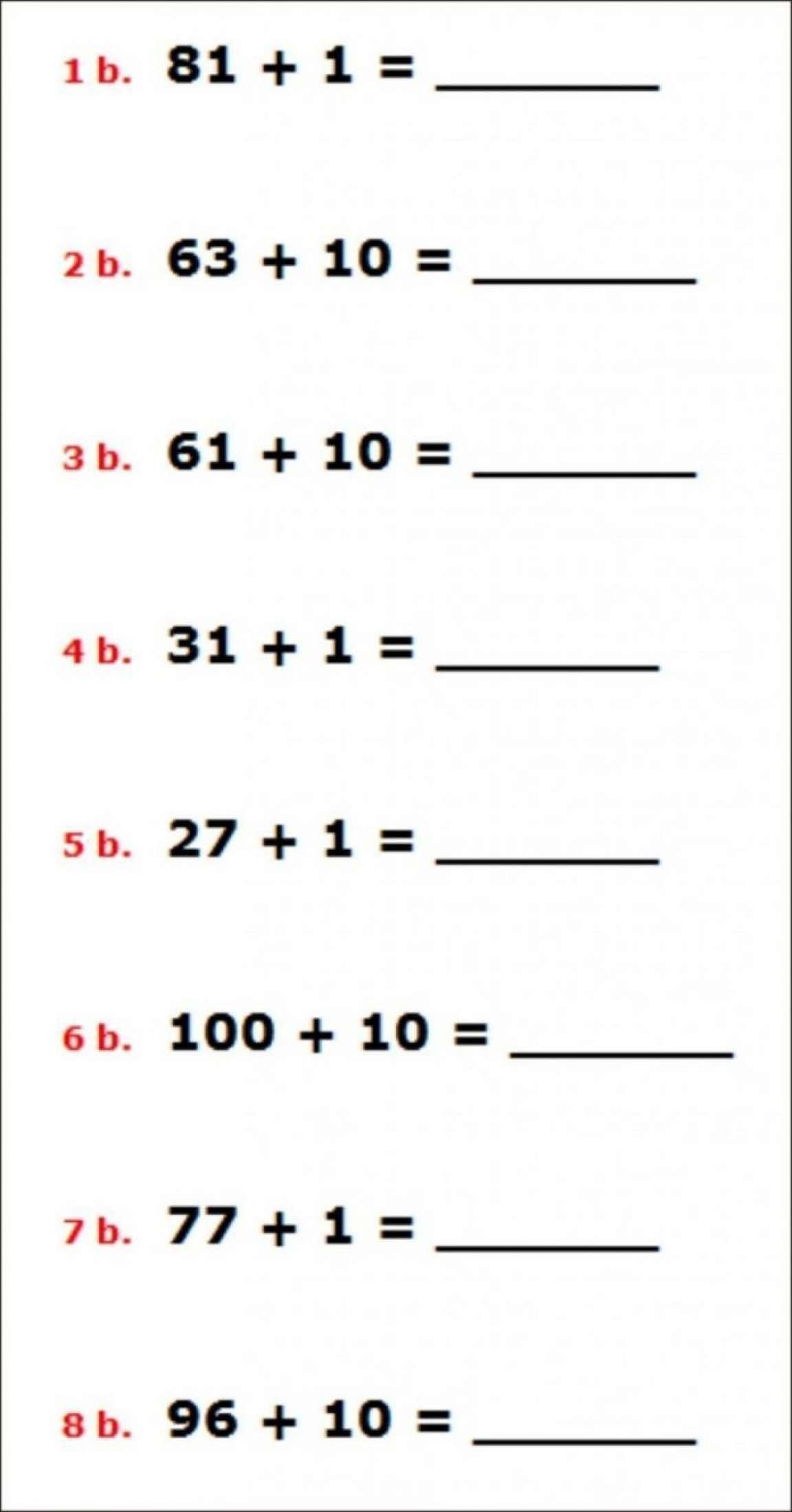 8 Kindergarten Math Worksheet Generator