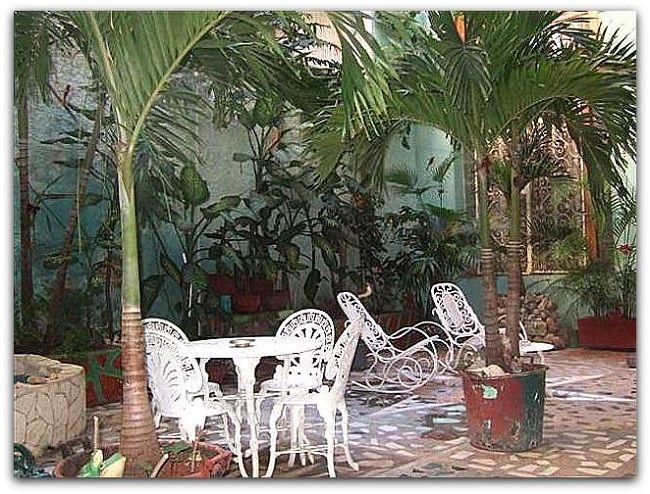 Casa Marta Lamparilla. Detalle del patio interior