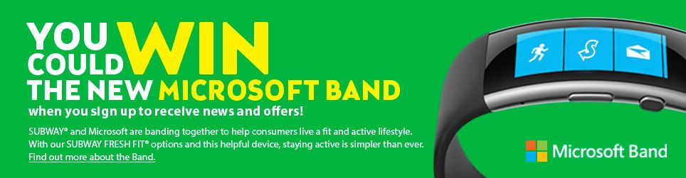 WIn 1 of 100 Microsoft Band 2  #Giveaway via #AuhYes - Hurry & Enter