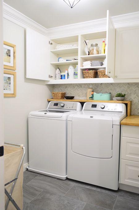 Photo of Woot! Die Renovierung unserer großen Waschküche ist abgeschlossen! | Junge Hausliebe