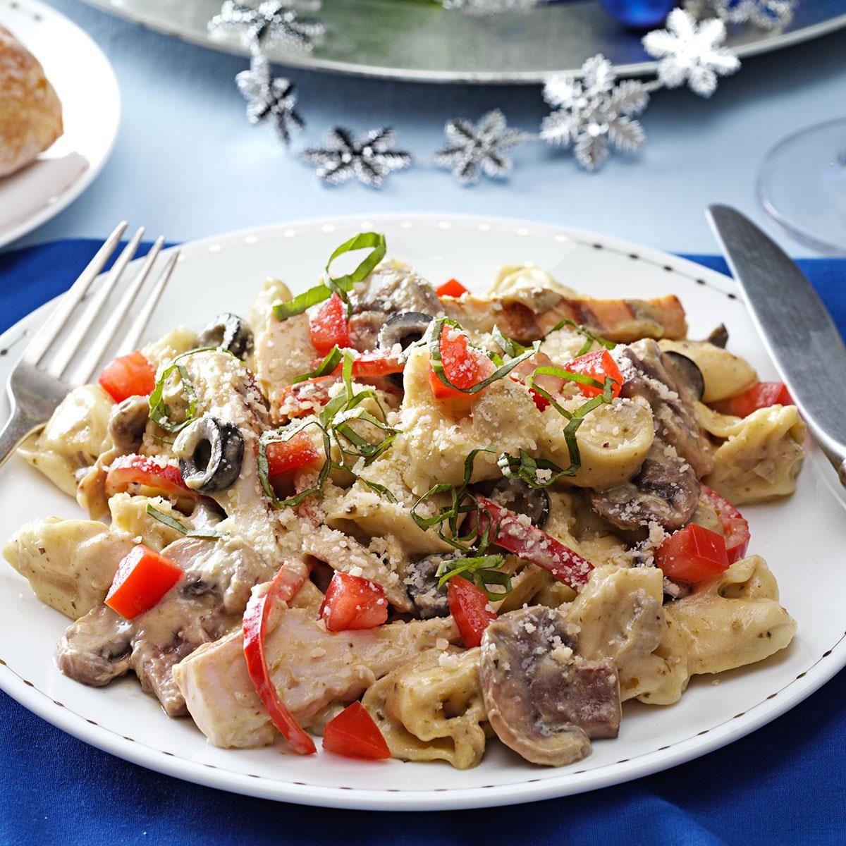 Chicken cheese tortellini alfredo recipe tortellini