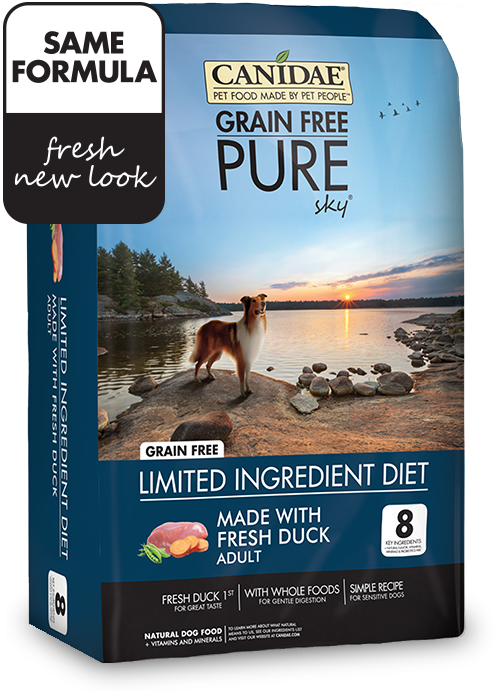 Canidae Pure Real Duck Limited Ingredient Grain Free Premium Dry Dog Food Dog Food Recipes Dry Dog Food Natural Dog Food