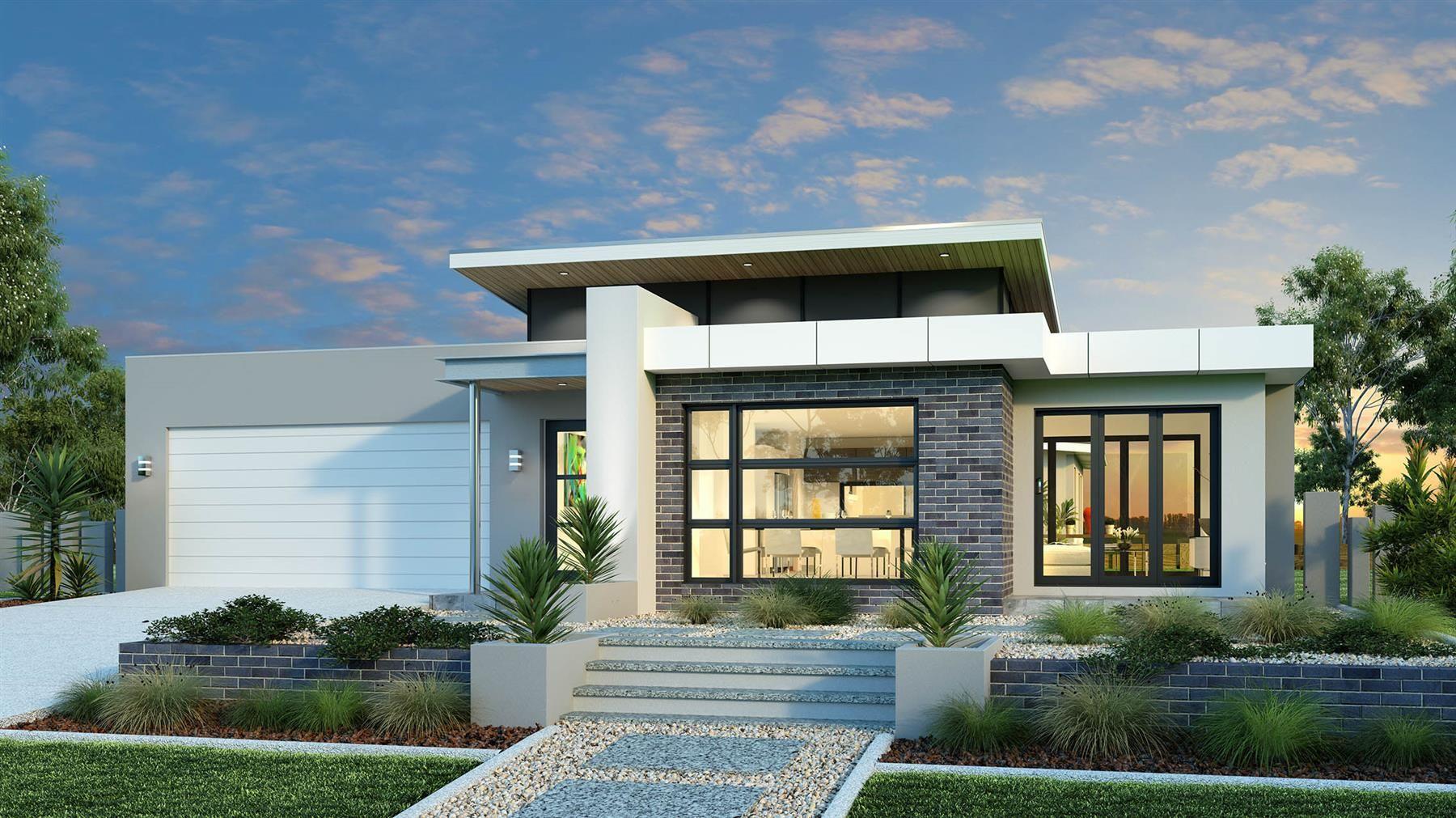 Lakeview 234 Design Ideas Home Designs In Batemans Bay G J Gardner Homes House Exterior Facade House Modern House Exterior