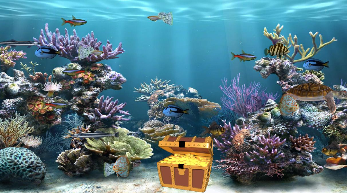 Fish Tank Moving Desktop Backgrounds Animated Aquarium Wallpaper Other Wallpapers