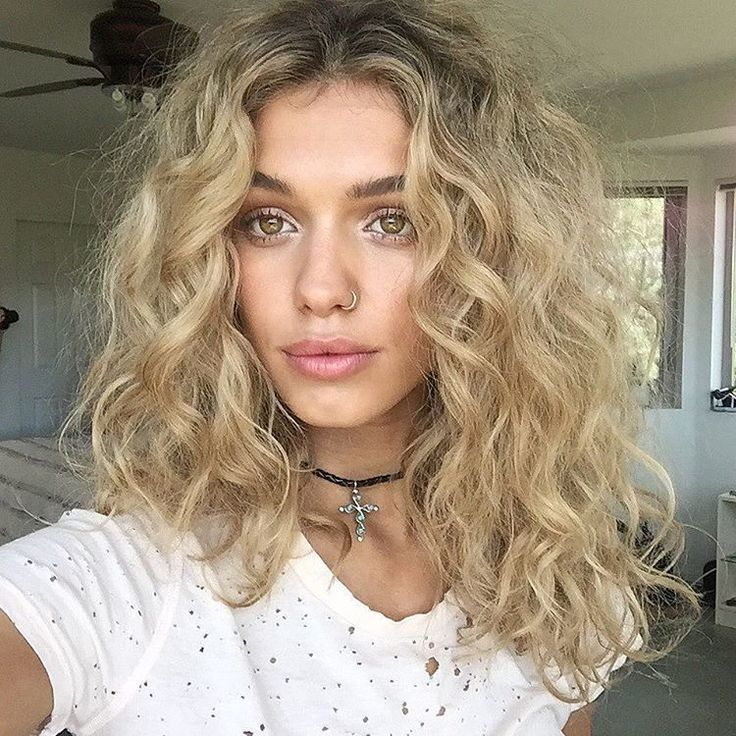 Amazing Blonde Short Curly Hairstyles 2018