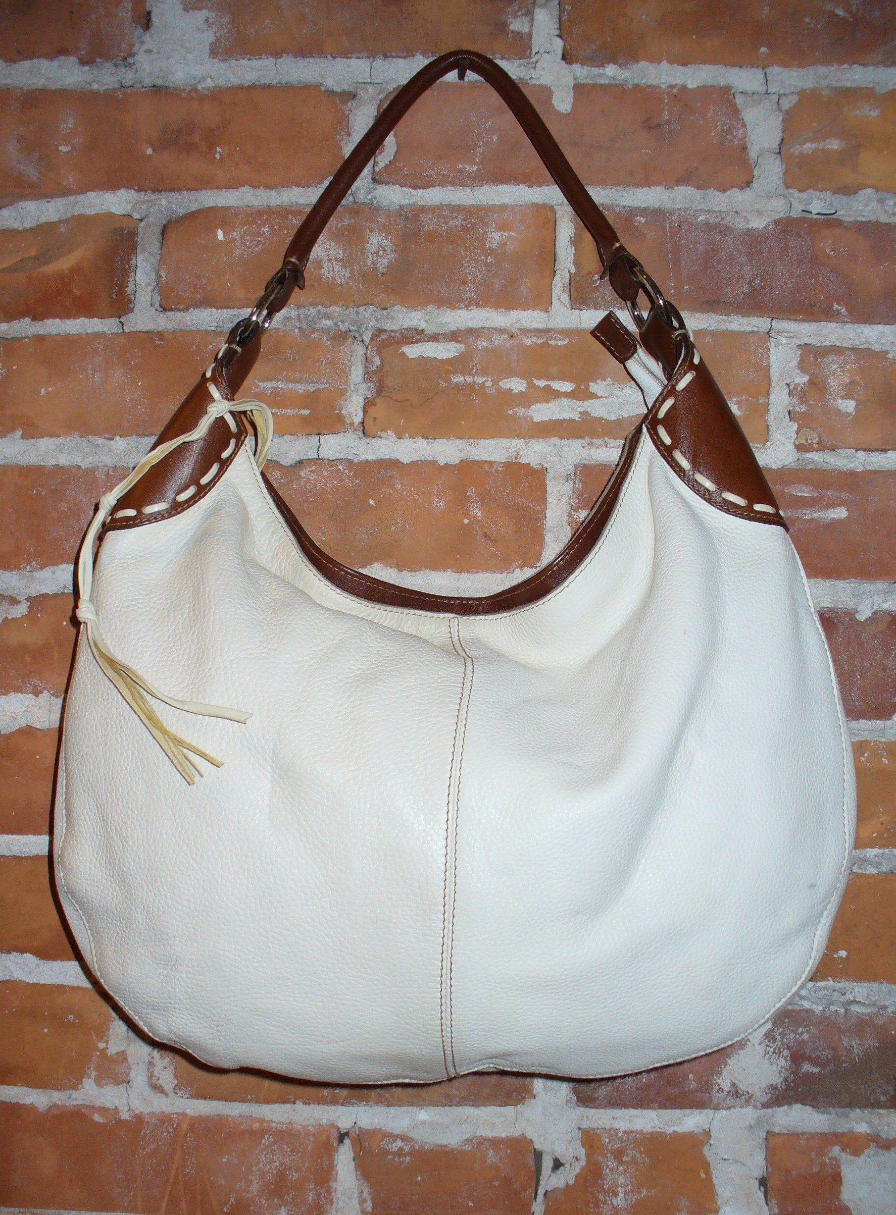 2325db999693 Leather School Florence Hobo Bag Made in Italy in 2019   vintage ...